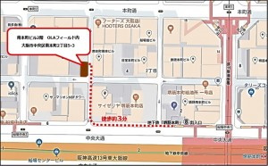 機構事務局MAP